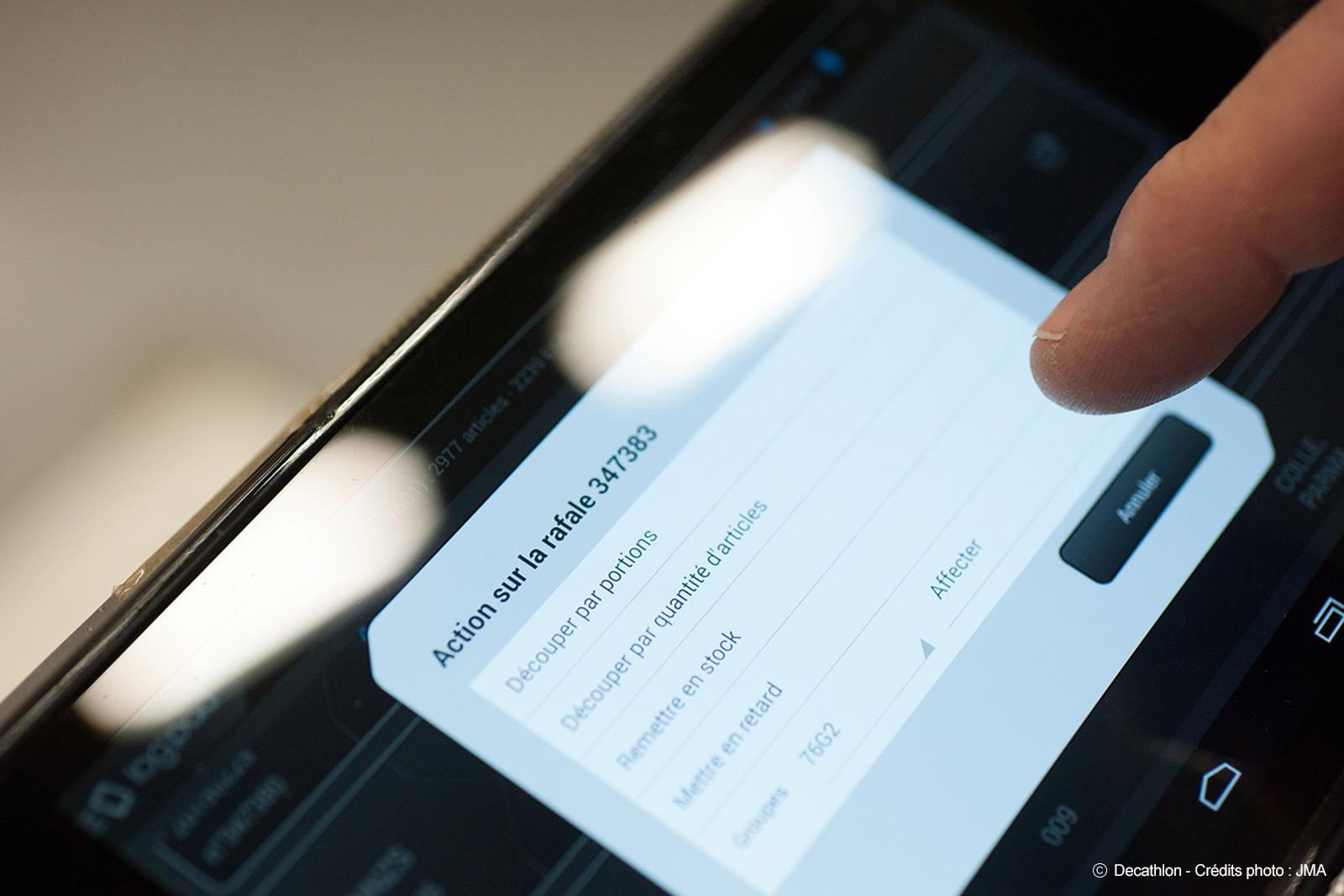 Tablette RFID