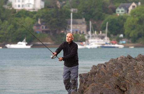 Le domaine de Kharkov la pêche la perche