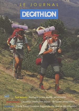 Affiche : LE JOURNAL DECATHLON