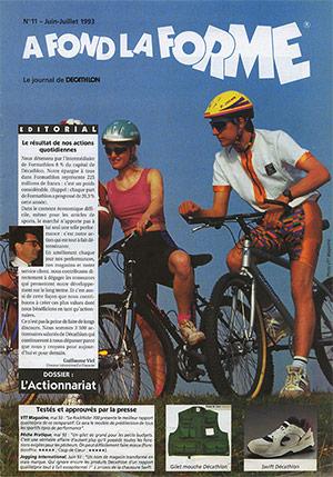 Le journal de DECATHLON : N°11 - Juin-Juillet 1993