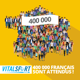 Vitalsport par Decathlon : 400 000 Français sont attendus !