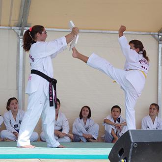 Initiation au taekwondo