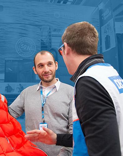 Fabien, Conseiller Client, depuis 16 ans chez Decathlon, 2 ans au CRC