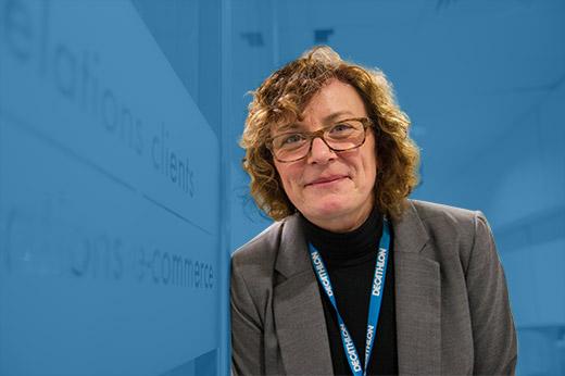 Lydia, co-fondatrice du CRC, depuis 25 ans chez Decathlon, 16 ans au CRC