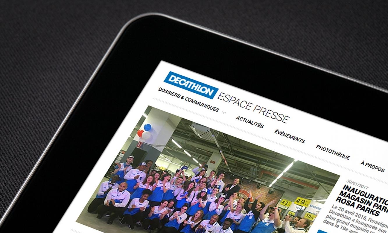 Decathlon Presse - Dossiers de Presse, Communiqués de Presse, actualités et évènements sport et Décathlon