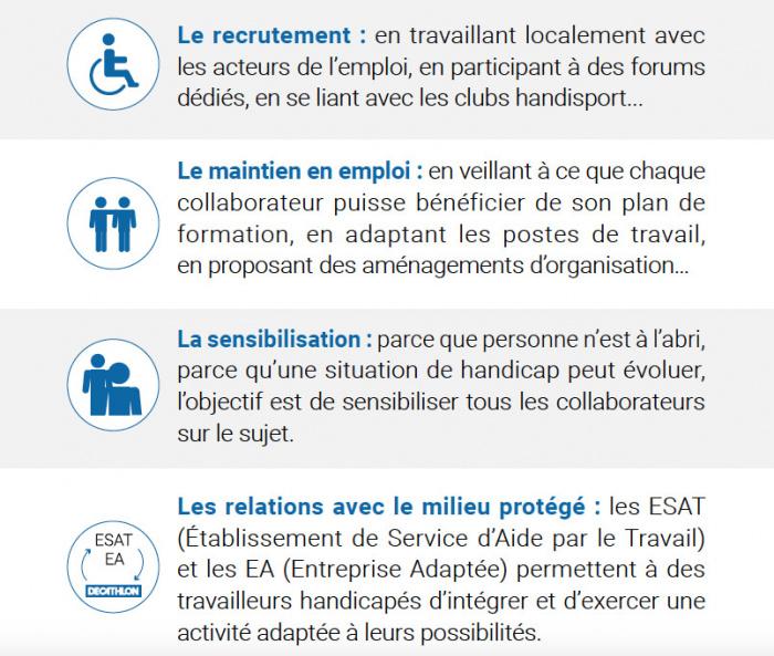 Decathlon mission handicap