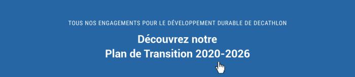 Engagements pour le Développement Durable de Decathlon : Plan de Transition 2020-2026
