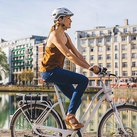 Vélo de ville classique elops decathlon