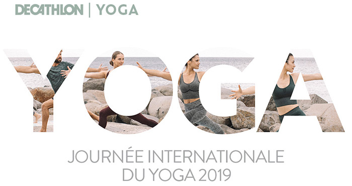 Decathlon journée internationale Yoga 2019
