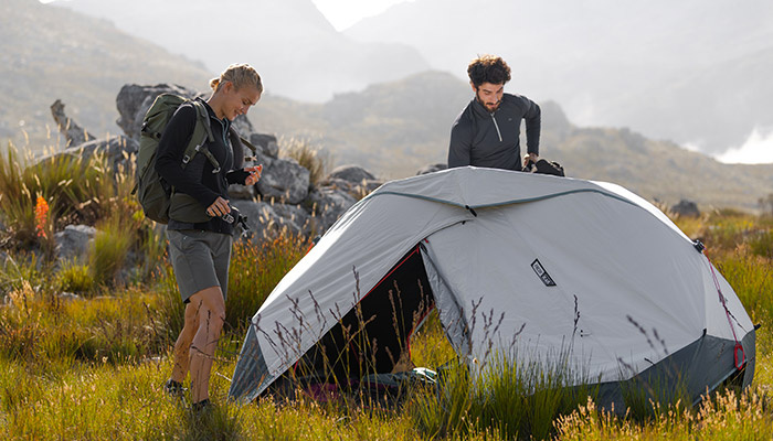 Quechua tente deux secondes EASY