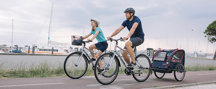 riverside vélo vtc randonnée