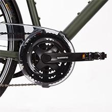 Vélo hoprider 500 cadre haut