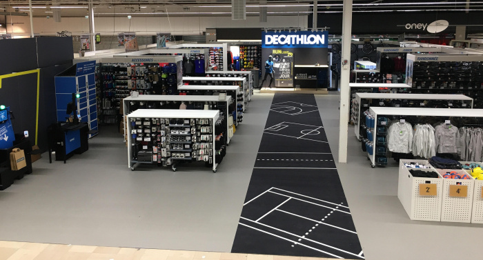 Decathlon Shop in the Shop Auchan Retail