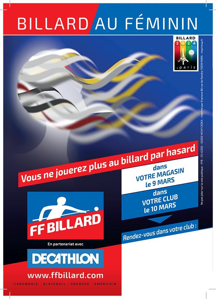 fédération française billard decathlon media