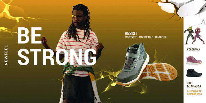 Newfeel chaussures Resist