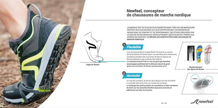 newfeel concepteur de chaussures de marche nordique