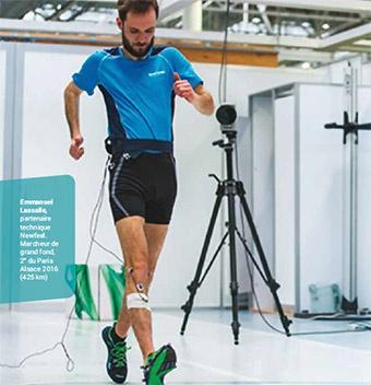 Emanuel Lassalle Partenaire technique marche sportive Newfeel 2018