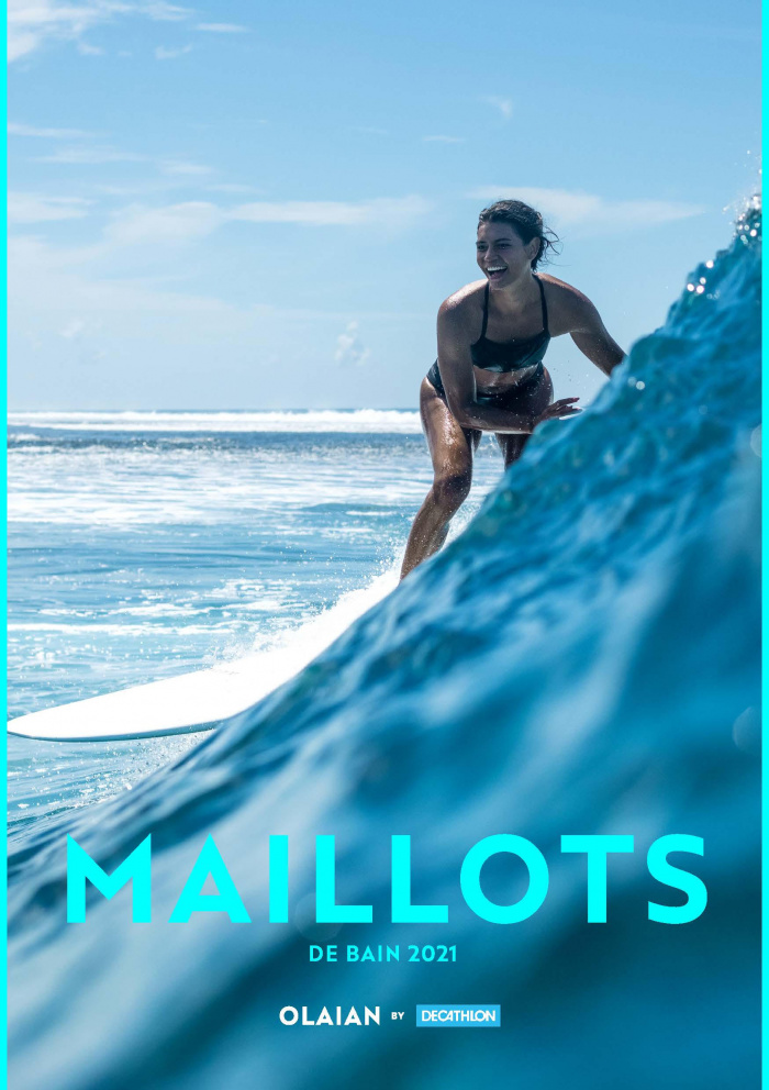 Lookbook Olaian Maillots de bain été 2021