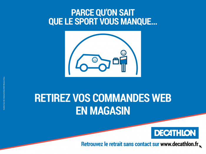 decathlon retrait magasin