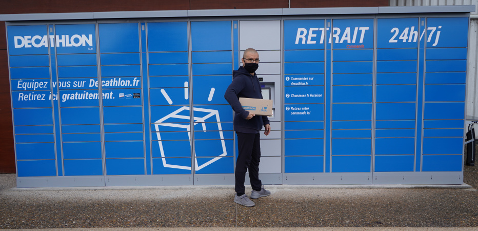 Decathlon Albi Lockers Service retrait de commande 7j 24h