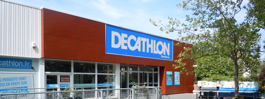 Decathlon Nanterre fermeture magasin
