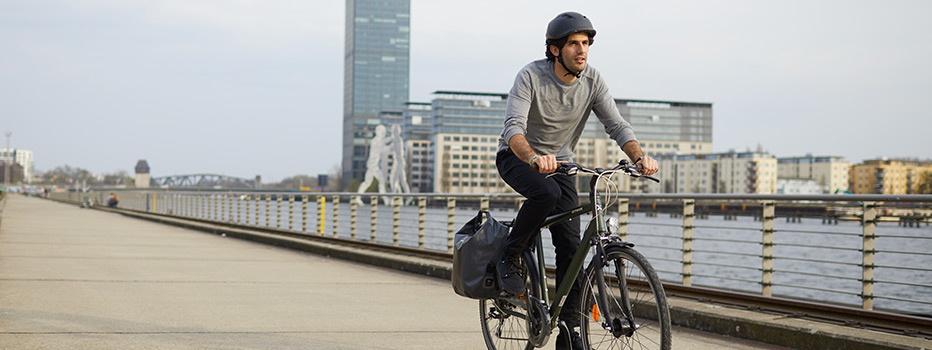 Vélo ville Decathlon