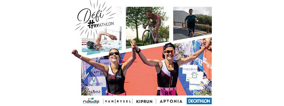 Défi #TRYathlon Kalenji Aptonia Nabaiji Van Rysel Decathlon