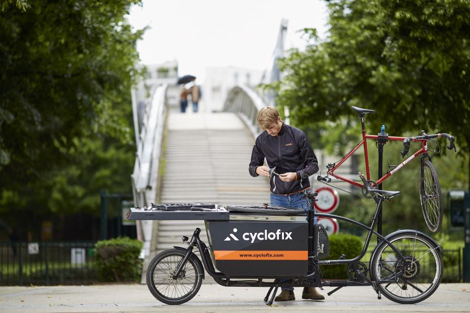 Decathlon et Cyclofix s'associent