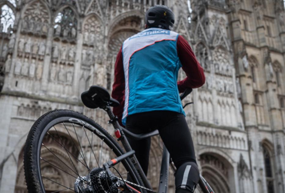 Decathlon ouvre son magasin de proximité en plein coeur de Rouen.