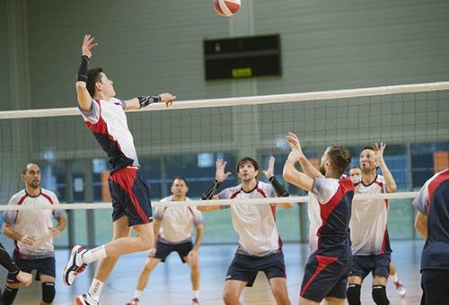 Allsix volleyball