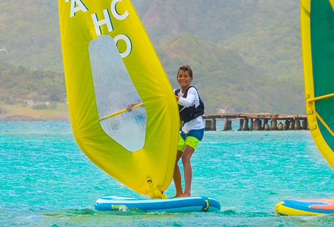 INNOVATION : Windsurf gonflable 100 Tamahoo by Decathlon