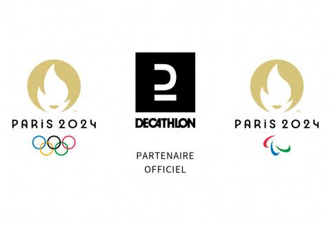 Decathlon devient Partenaire Officiel des Jeux Olympiques et Paralympiques de Paris 2024