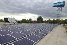 Decathlon s'engage pour l'électricité d'origine<br/> renouvelable