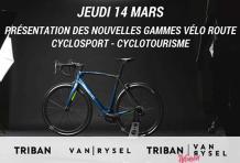 Nouvelles gammes vélo route VAN RYSEL & TRIBAN