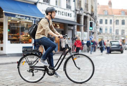 Elops 120E, le nouveau vélo électrique de Decathlon