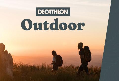 Decathlon lance DECATHLON OUTDOOR, sa plateforme de micro aventures