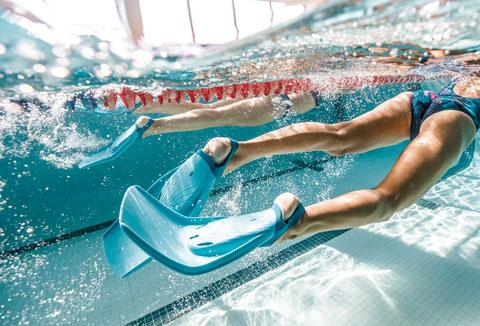 Innovation Decathlon, les palmes de natation longue Tonifins