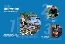 Le kayak gonflable Strenfit X500 remporte les Innovation Awards