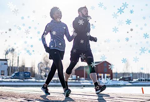Noël : La joie du sport et de la marche en cadeau !