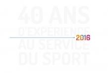40 ans d'expérience au service du sport