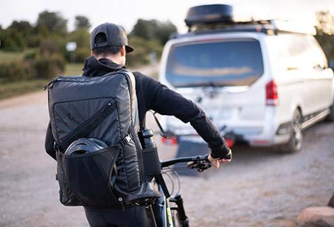 VTT XC : Le bagage du VTTiste en exclusivité !